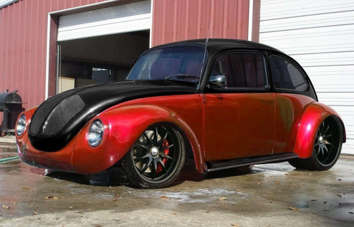 My goal is to build this V8 Beetle. What do you think of the fantastic color scheme?