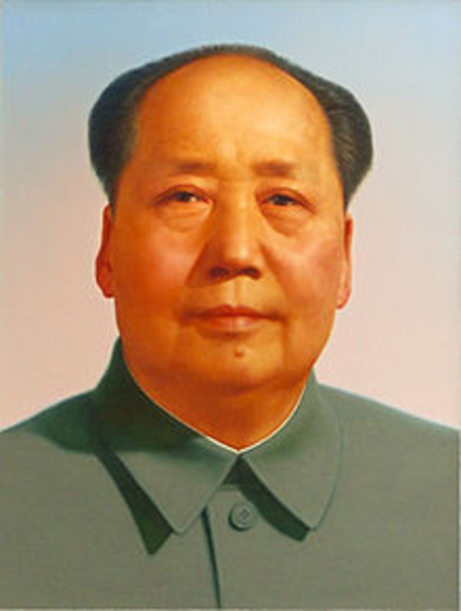 Mao Zedong or Mao Tse-tung, December 26, 1893 September 9, 1976), also known as Chairman Mao, was a Chinese communist revolutionary and founding father of the People's Republic of China, which he ruled as an aut