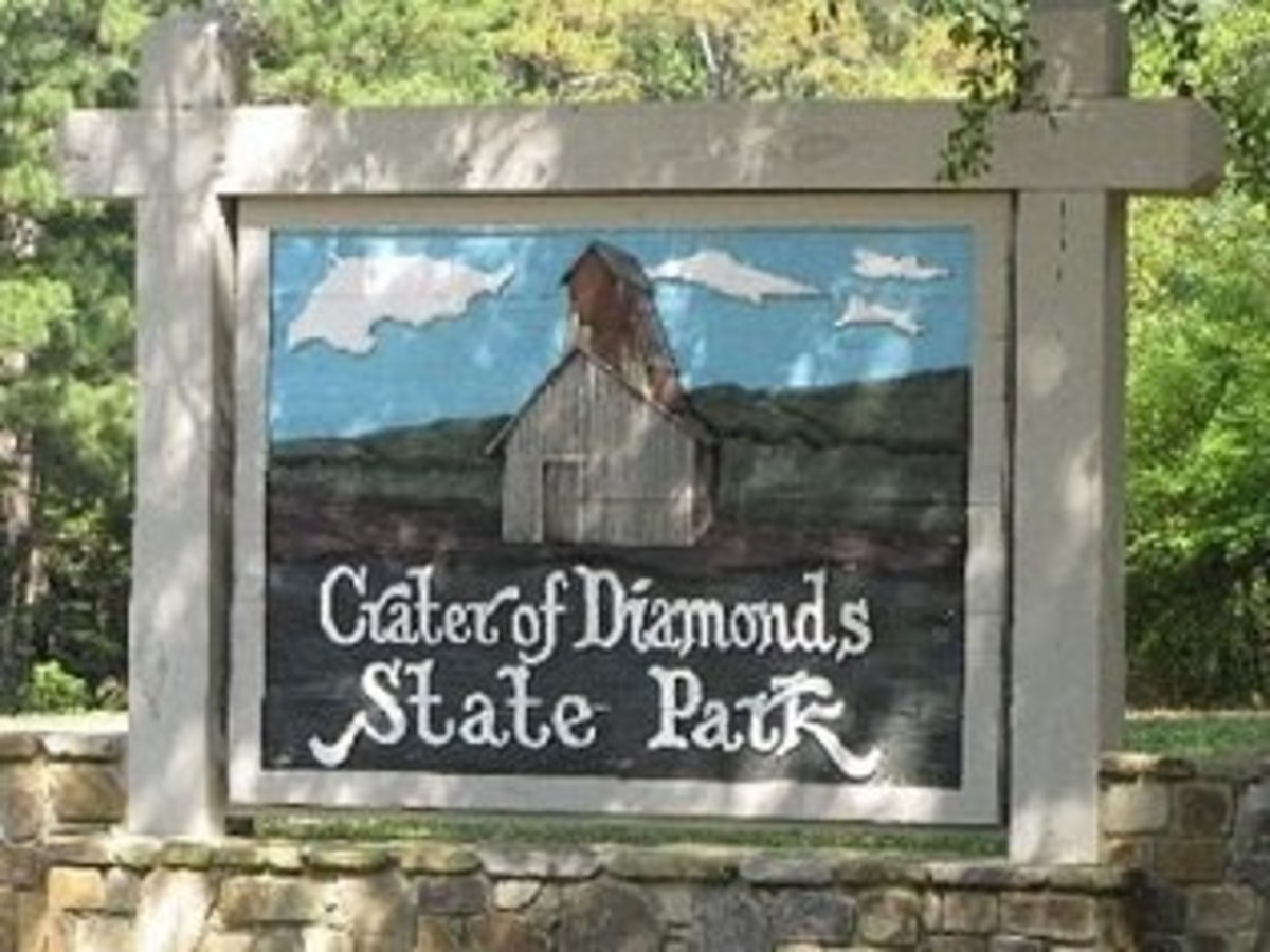 Finding Free Diamonds at the Crater of Diamonds State Park in Arkansas
