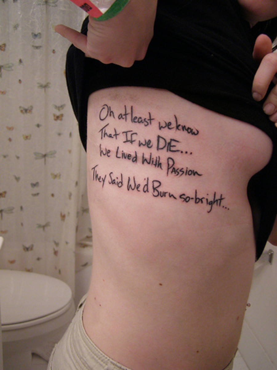 Tatto Quotes on Saying Tattoo  Wise Phrases From Philosophy  Bible  Buddhism