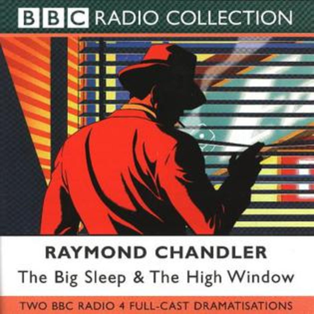 sample from the cover of the BBC radio dramatizations of Chandler's work, including The Big Sleep.