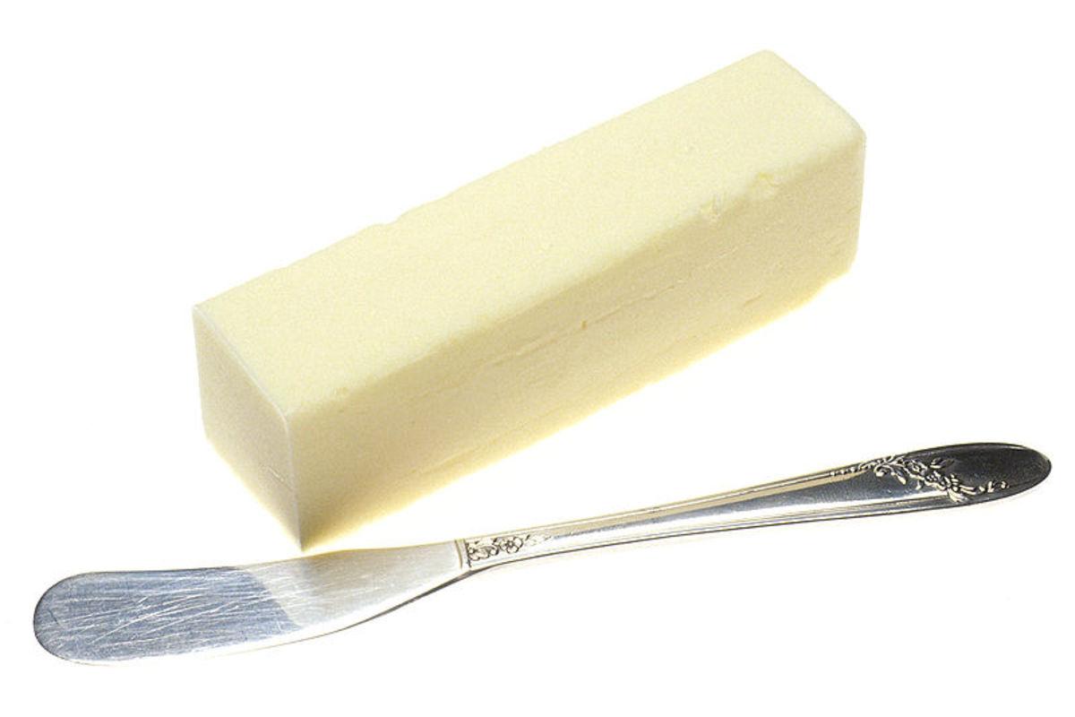 Butter.  Photo image by Renee Cornet, Wikimedia Commons