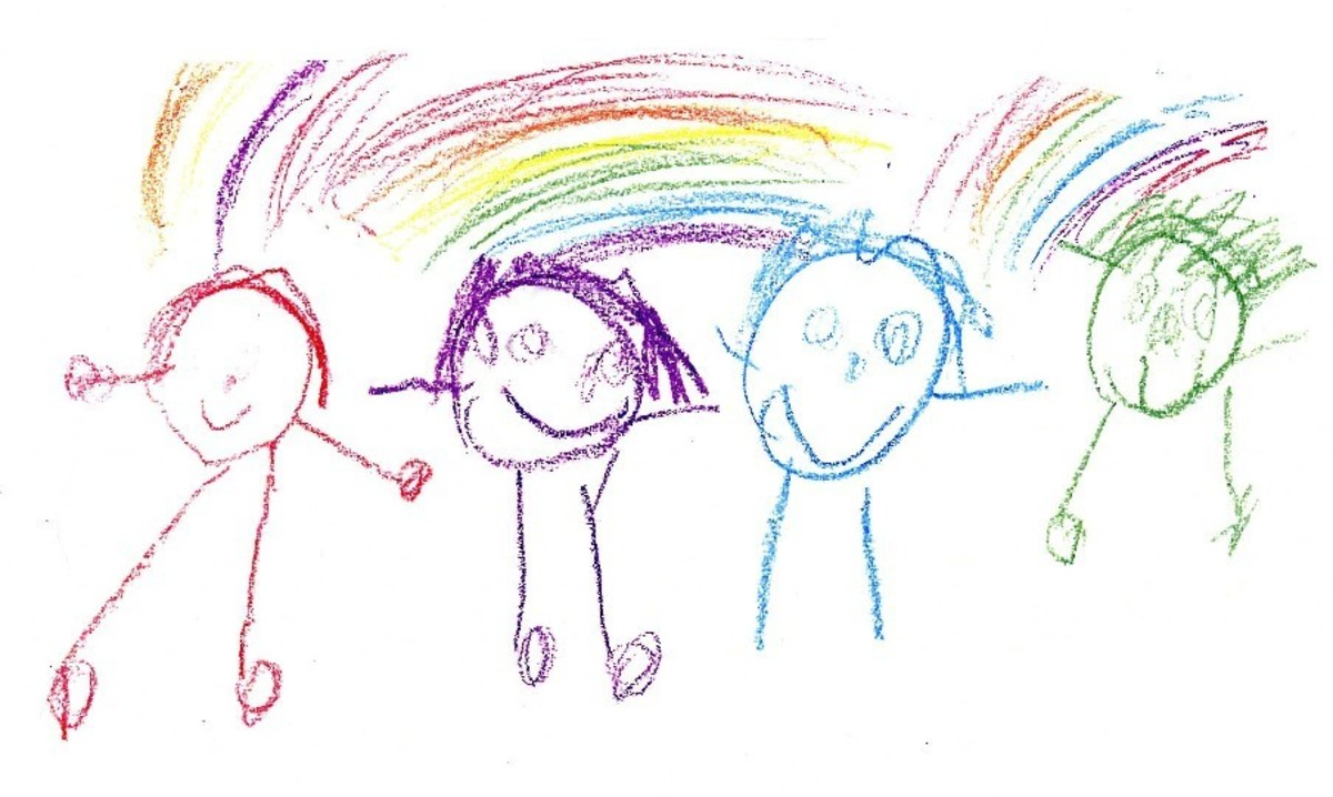 Relativism allows us to admire the beauty in children's drawings