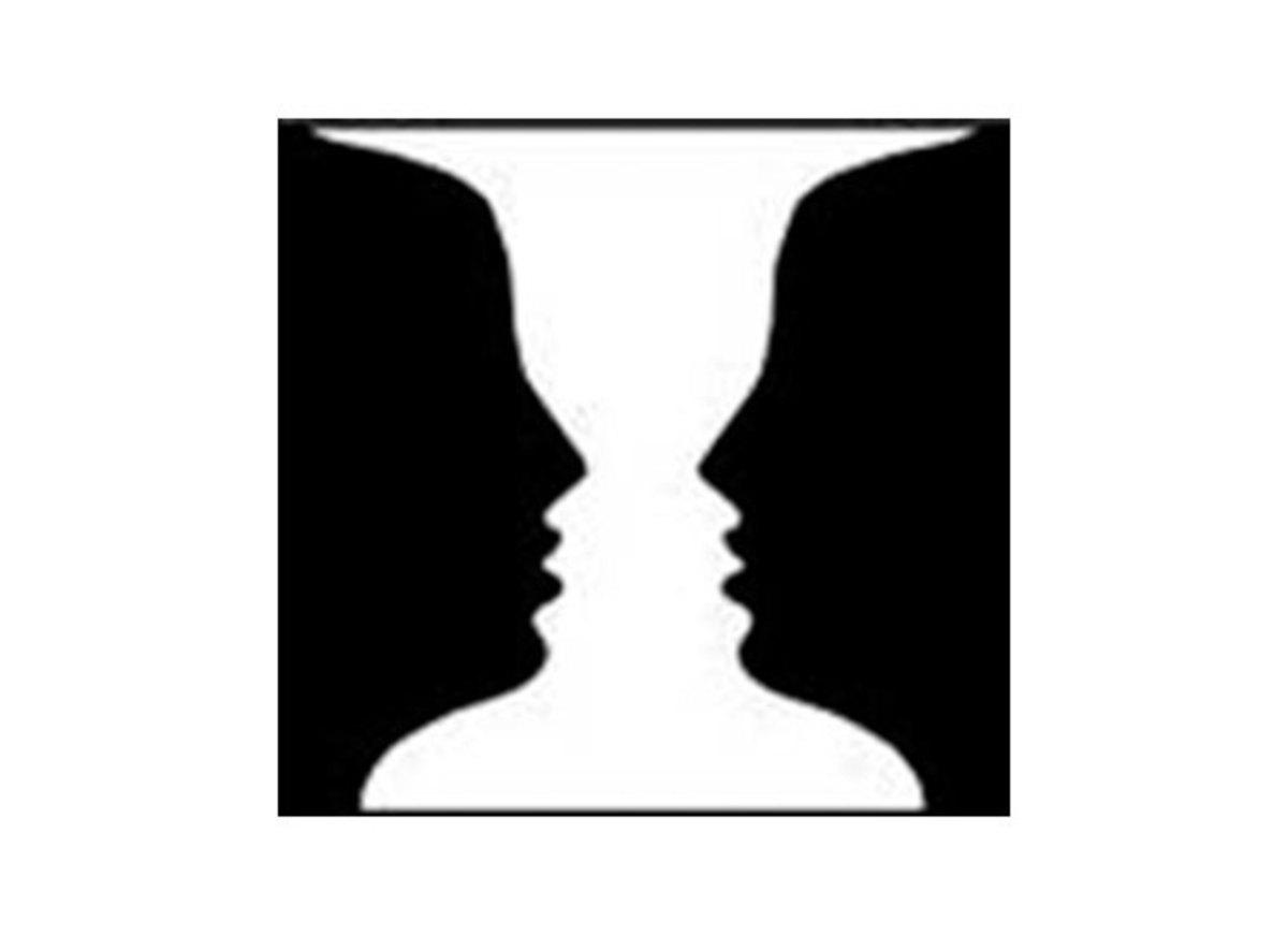 optical illusions funny notan brain warhol andy games cliparts print 1964