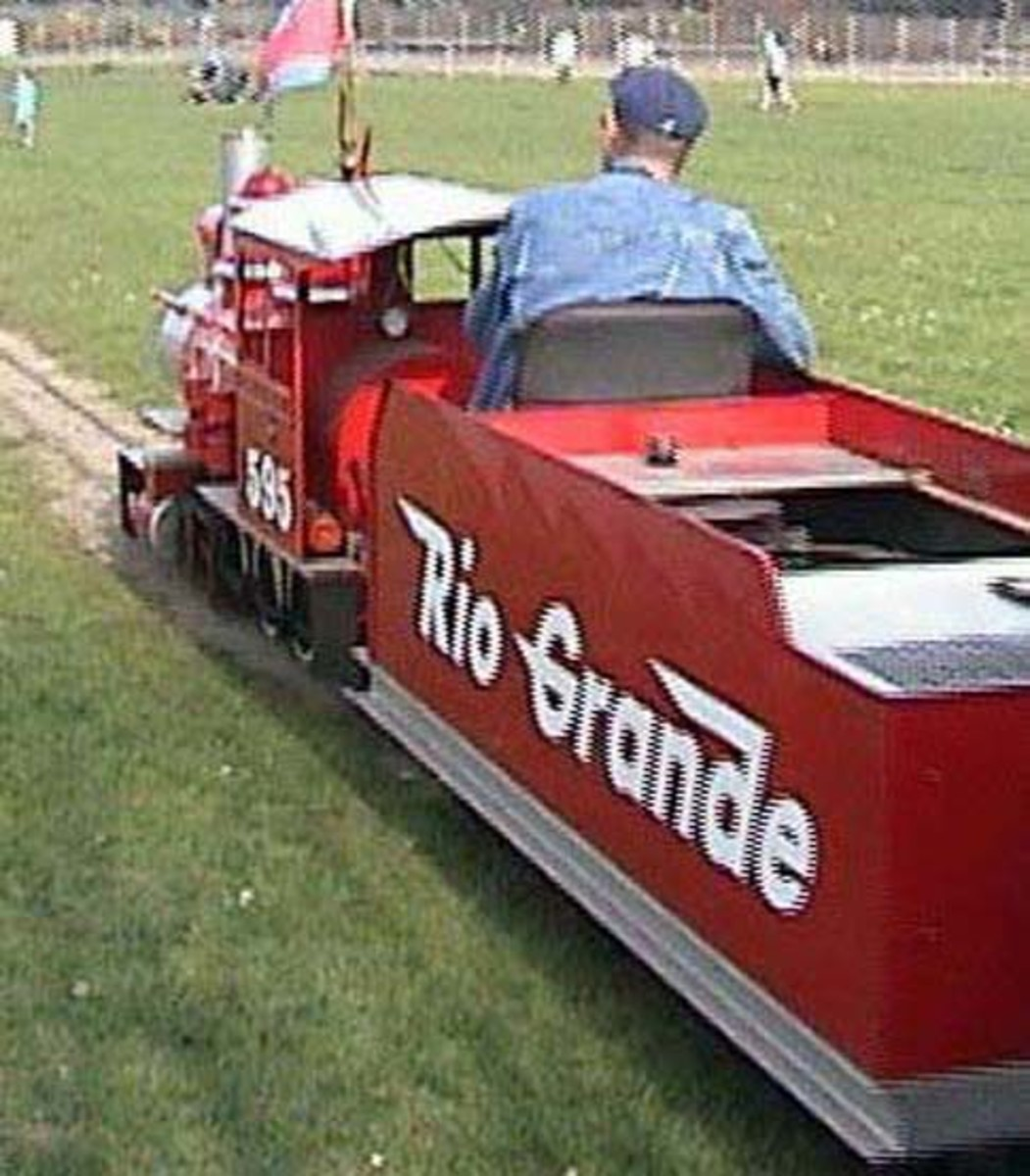 Clevedon miniature railway, near Bristol