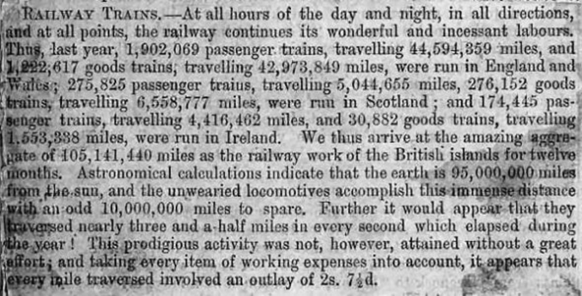 Growth in Victorian Railways