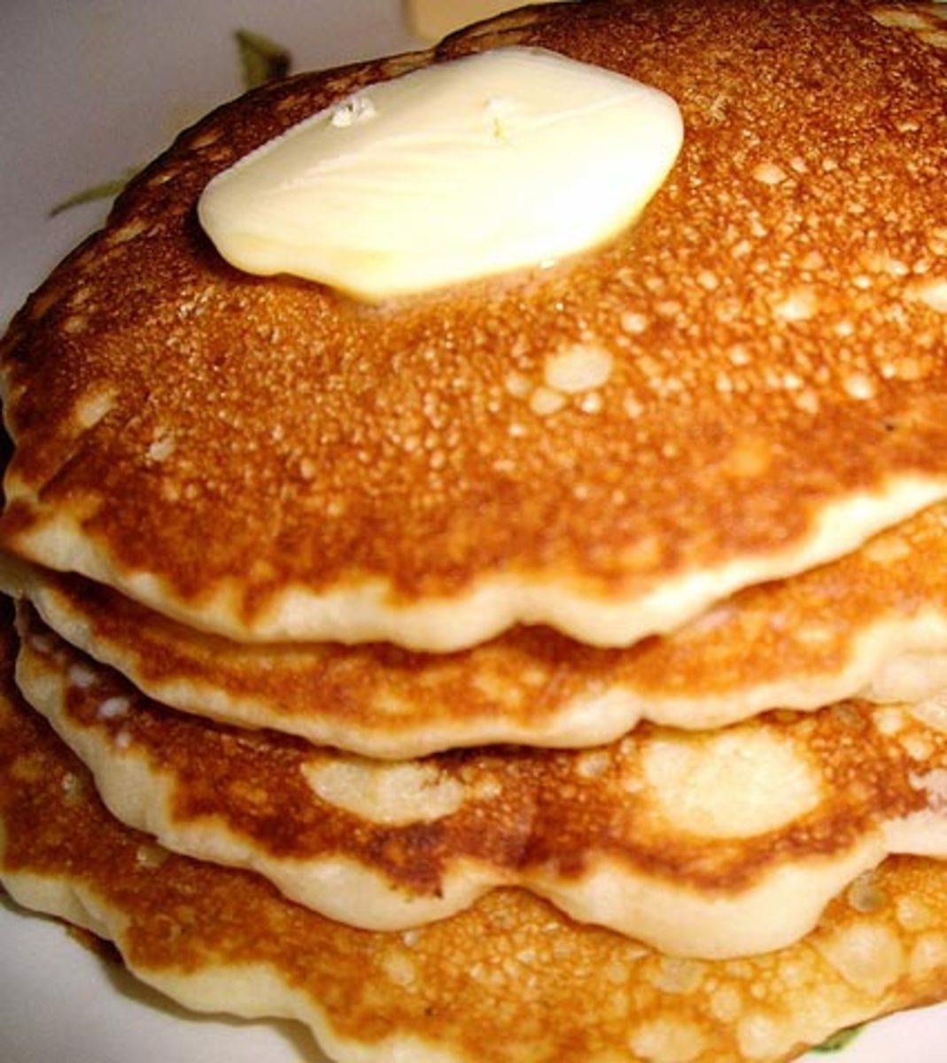 Pancake Recipe Easy Enough for Kids to Make