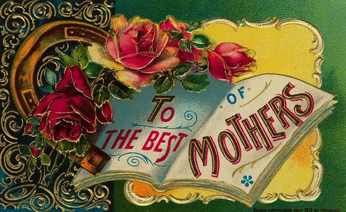 Scroll down to see all the vintage Mother's Day cards