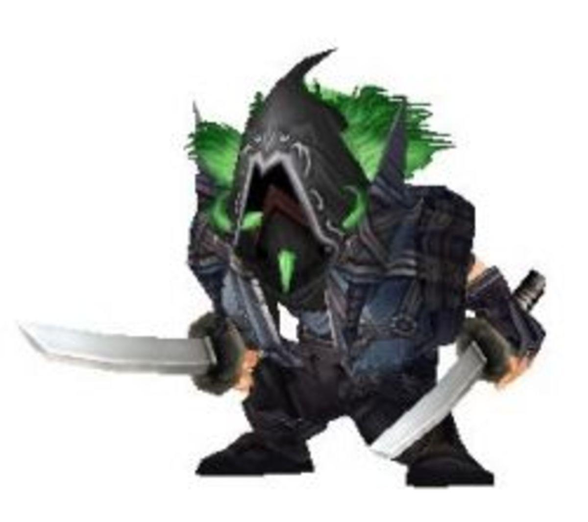 Gnome Rogue, sneeeeeaking