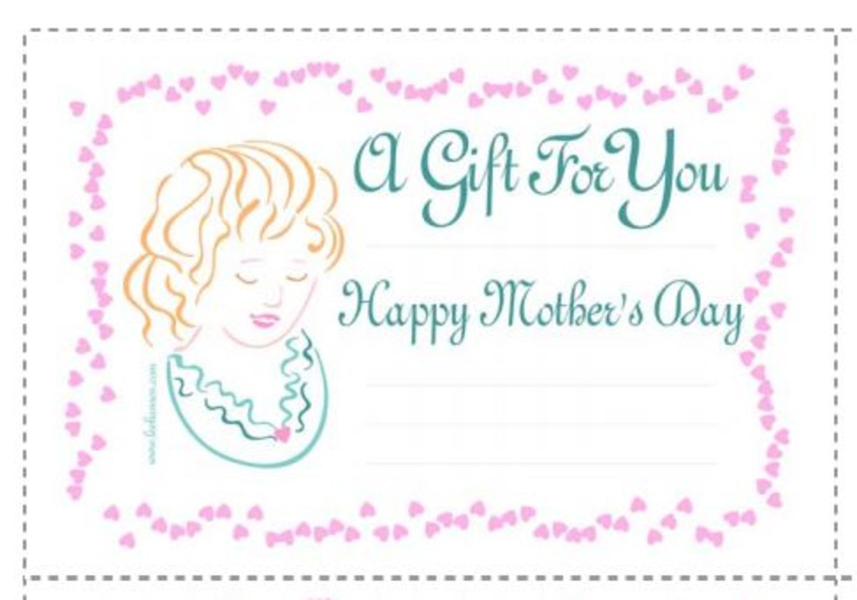 Cameo lady Mother's Day coupons