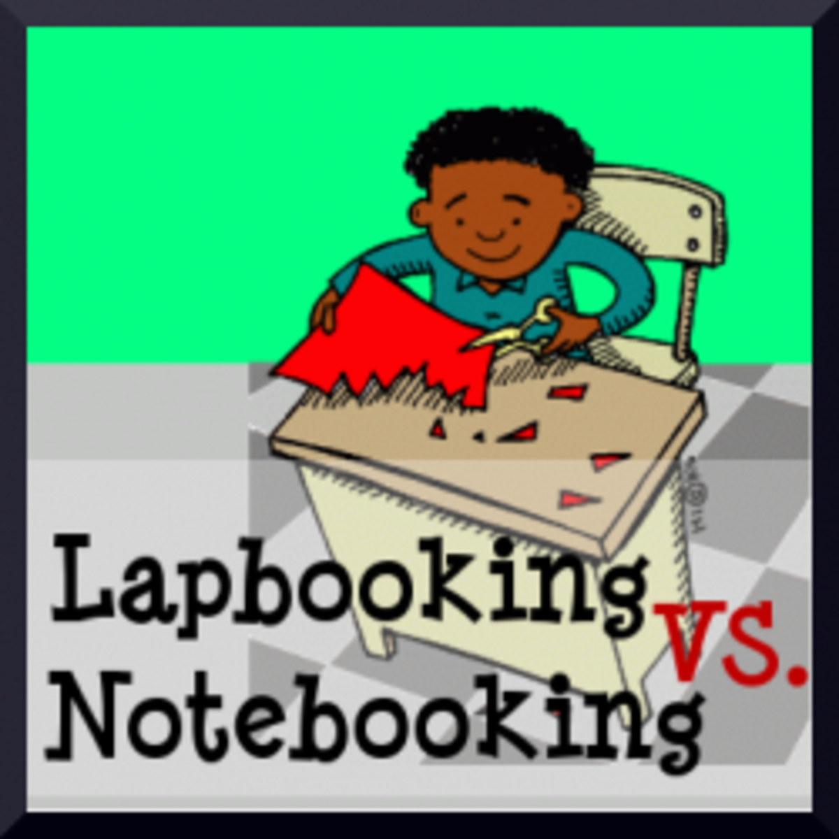 Lapbooking Versus Notebooking