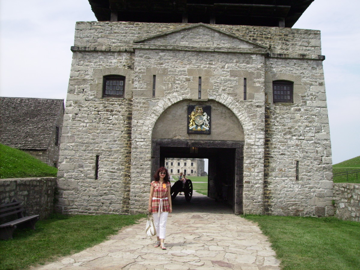 Entrance to Old Fort Niagara