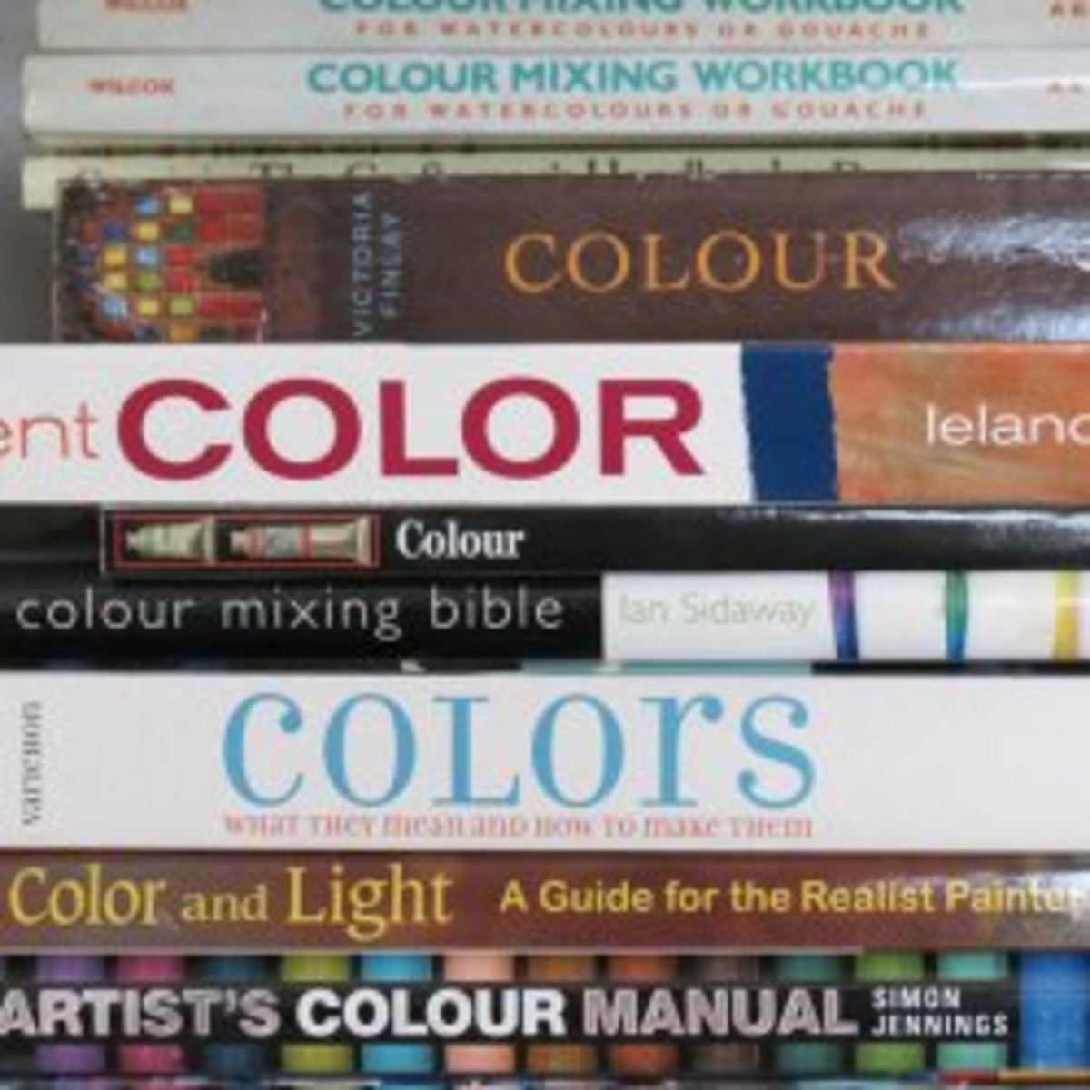 The Best Art Books - Colour