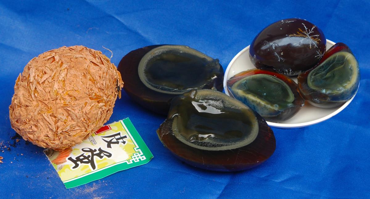 Pidan, century egg or preserved egg