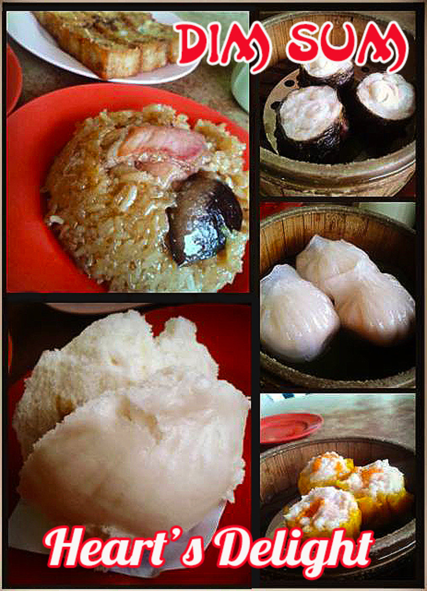 "Dim Sum or poetically translated as ""heart's delight"" are delicious little morsels of stuffed savory meat or sweet dumplings."