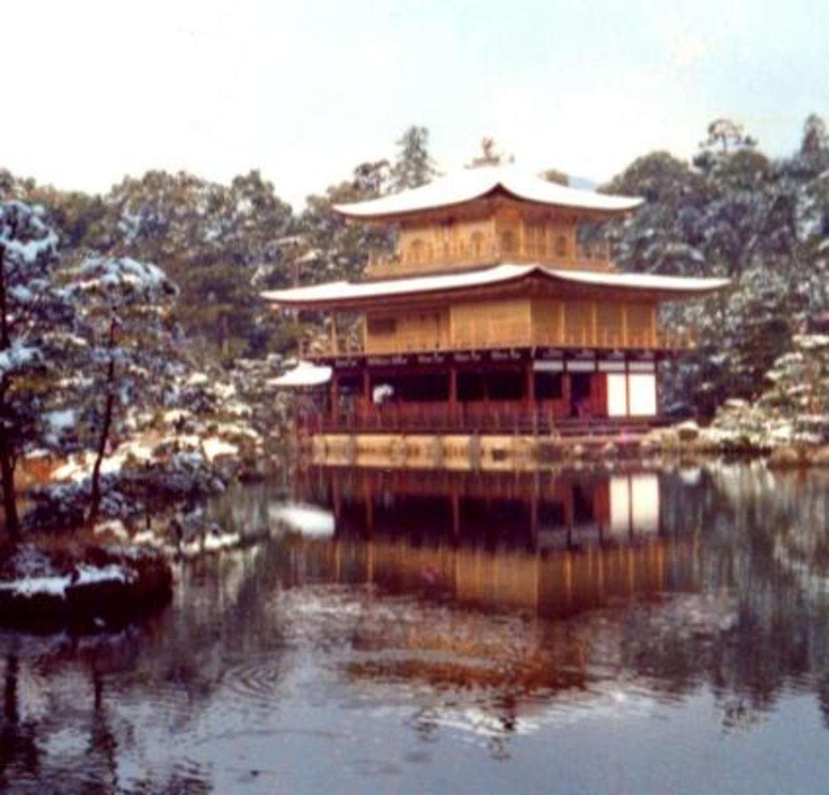 Kinkaku-Ji -- the Golden Temple. In Kyoto, Japan.