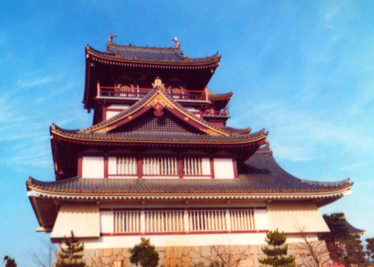 The Movies Depicting Feudal Samurai Times Involve the Castles -- This is Fushimi-Momoyama-Jo, in Kyoto.
