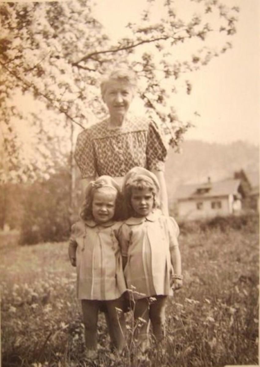 Mrs.Schnitzler, sis & me