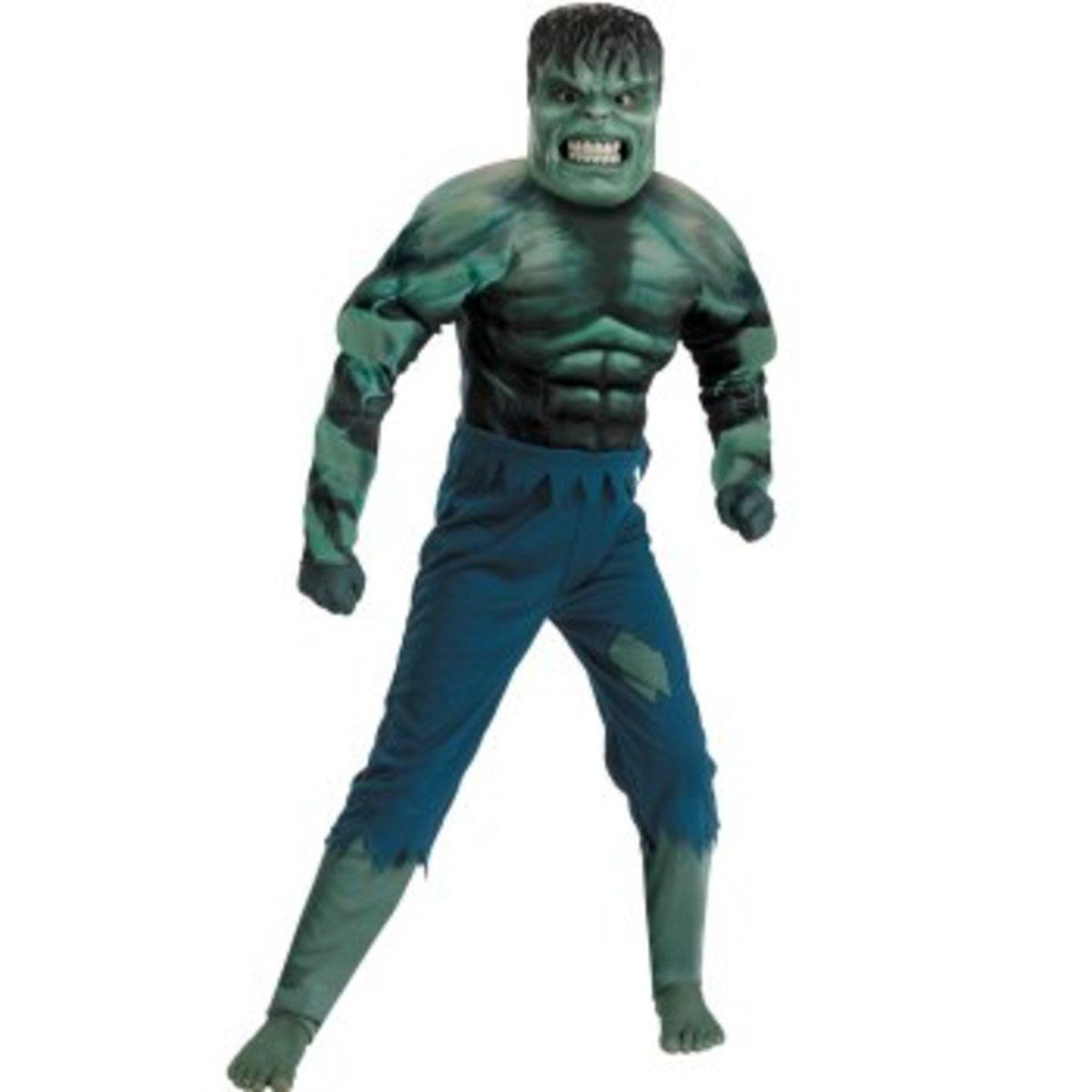 Hulk movie costume 2008