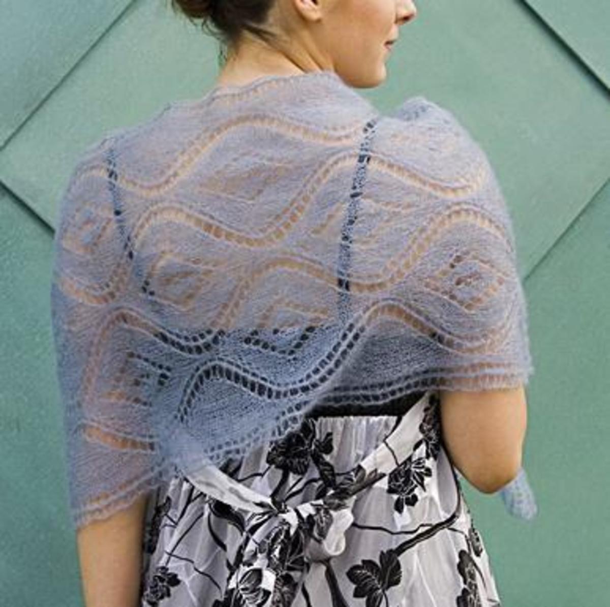 Designing Lace Shawls