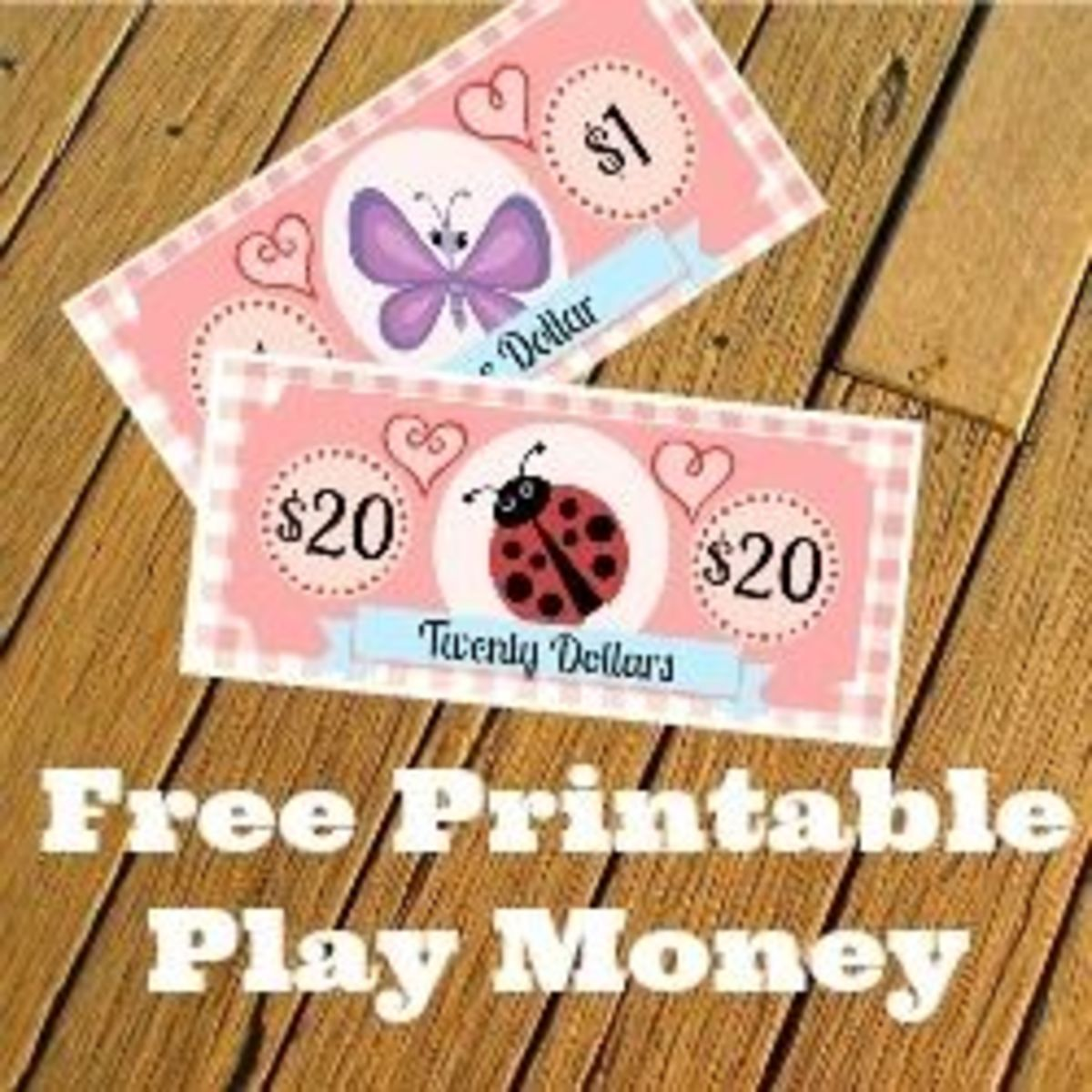Free Printable Play Money Kids Will Love Fake Monopoly Bills Coins Hubpages
