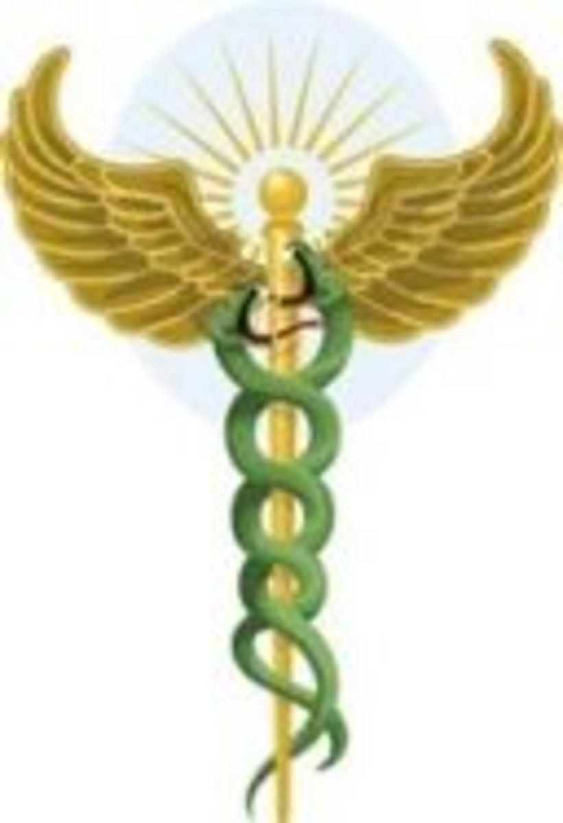 Asklepios ~ double serpent