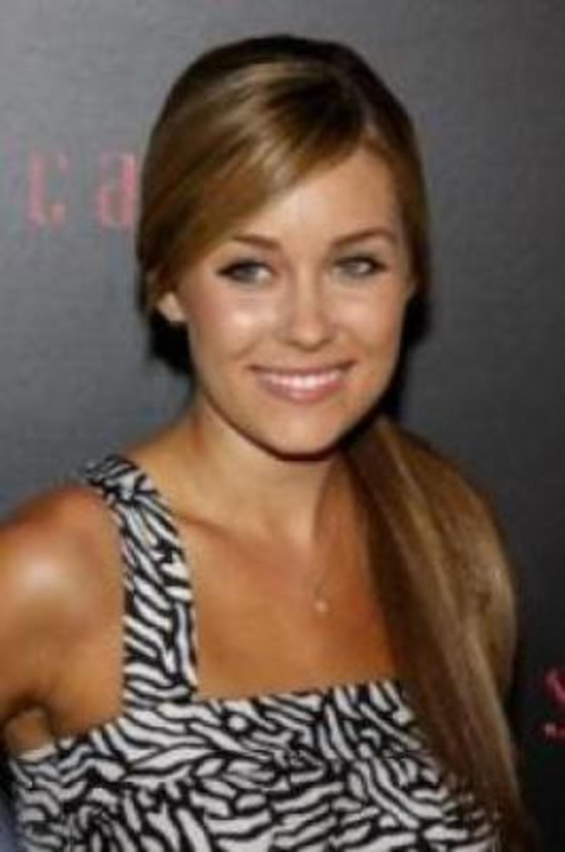 lauren conrad ponytail for medium hair
