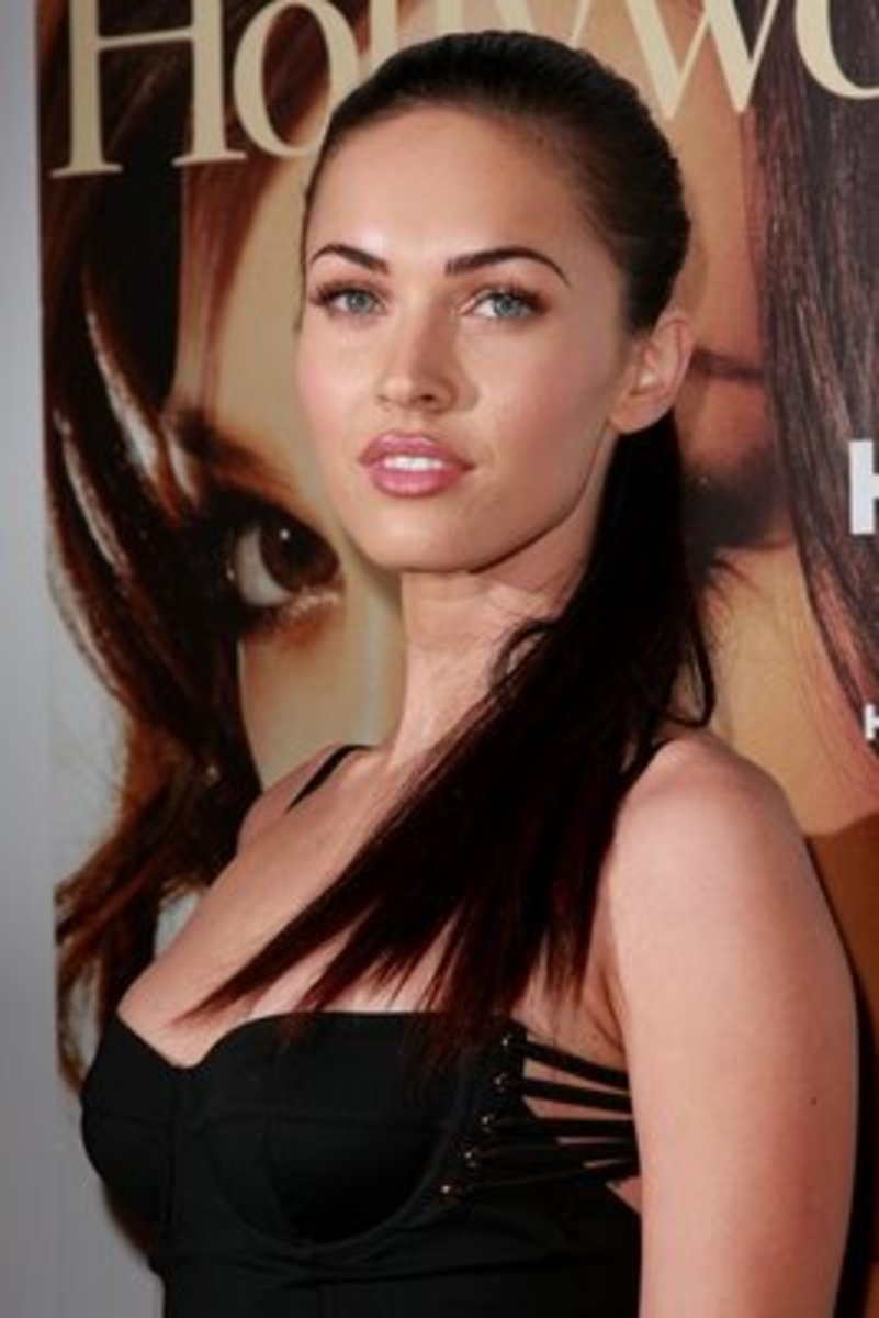 Megan fox ponytail for medium length hair