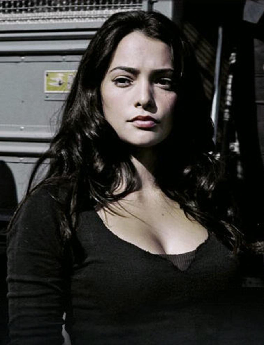 Natalie Martinez in Death Race movie picture gallery