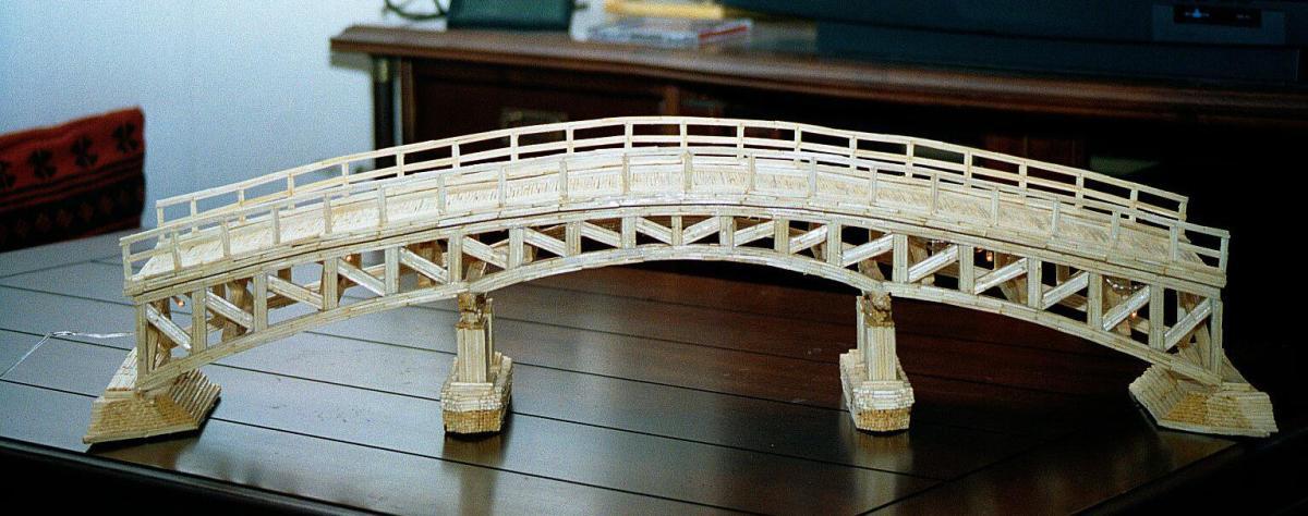 building a toothpick bridge