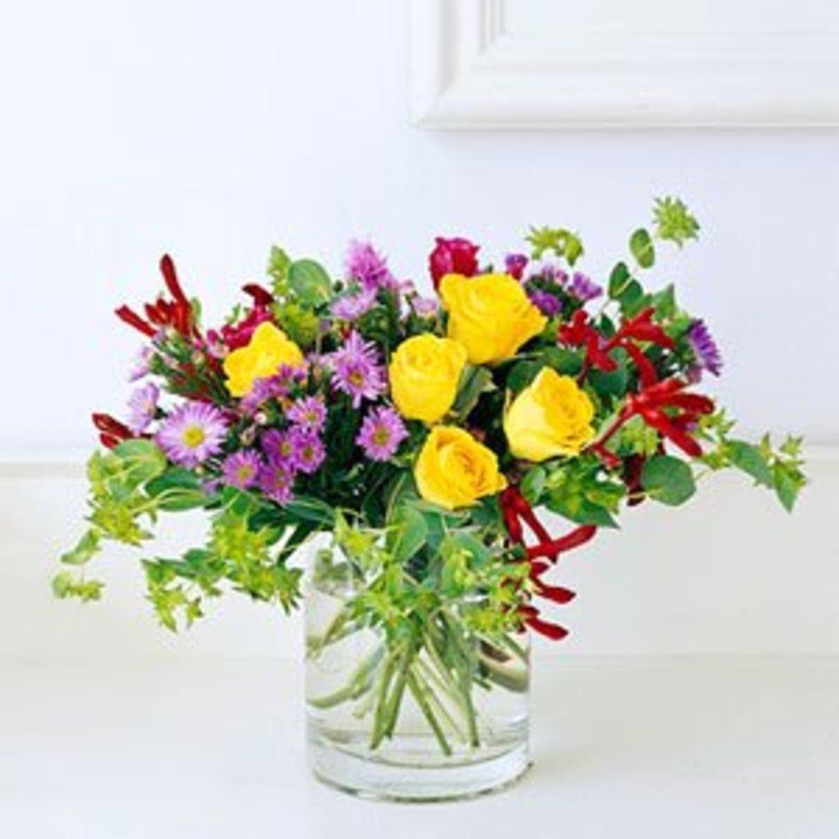 Flower Arranging Instructions