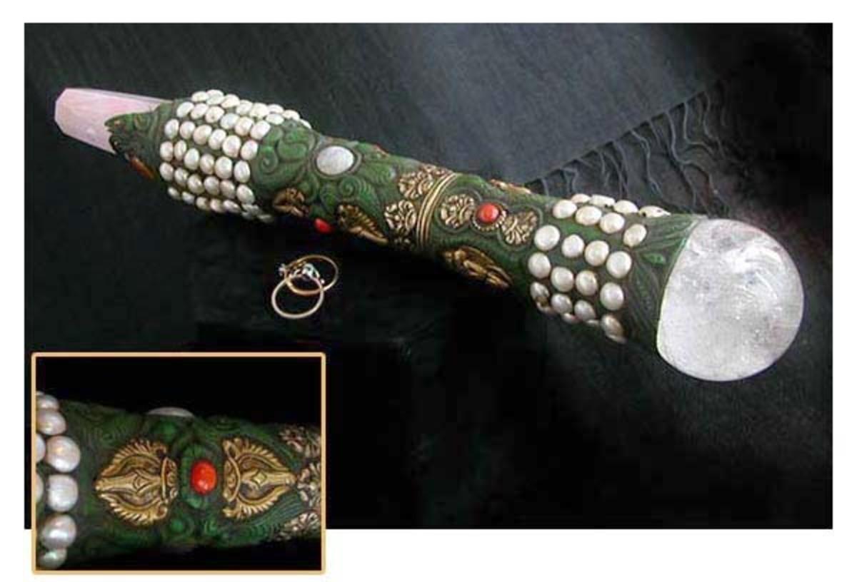 Tibetan healing sticks