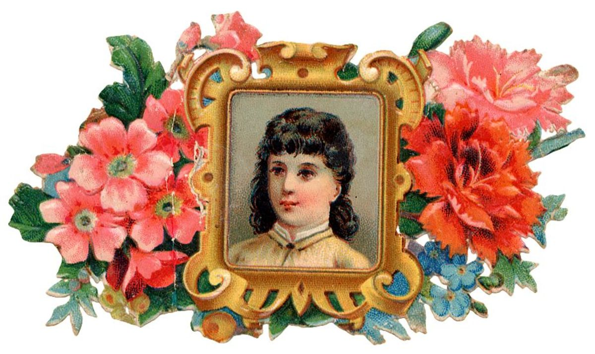 Please scroll down to see all the vintage Mothers Day clip art