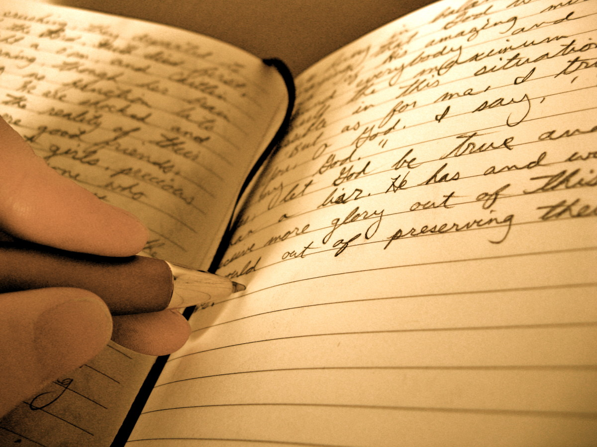 Writing in a journal regularly will improve your writing ability.