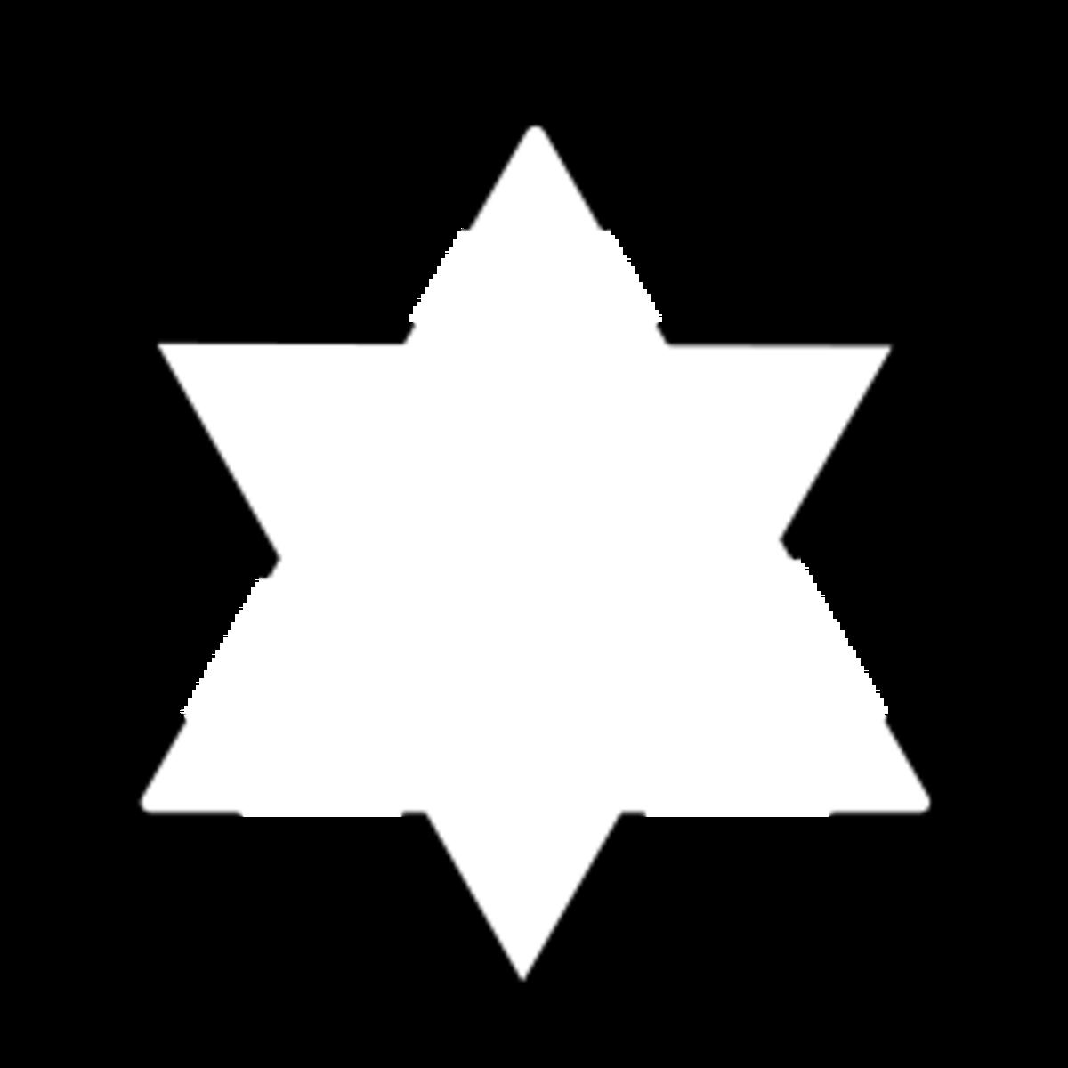 Triangle optical illusion.