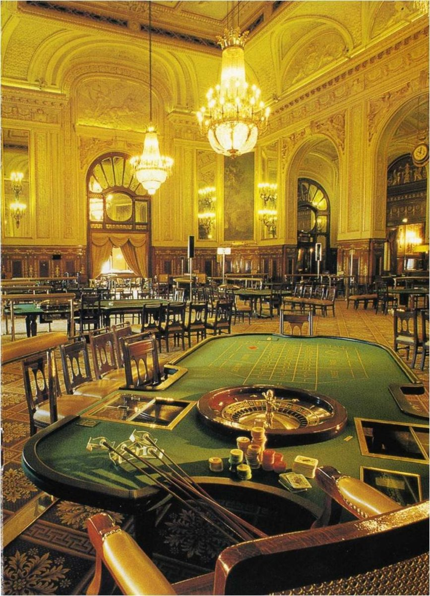 INSIDE THE MONTE CARLO CASINO