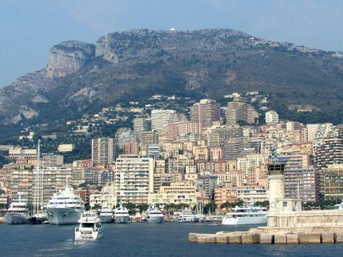 MONACO FROM THE SEA