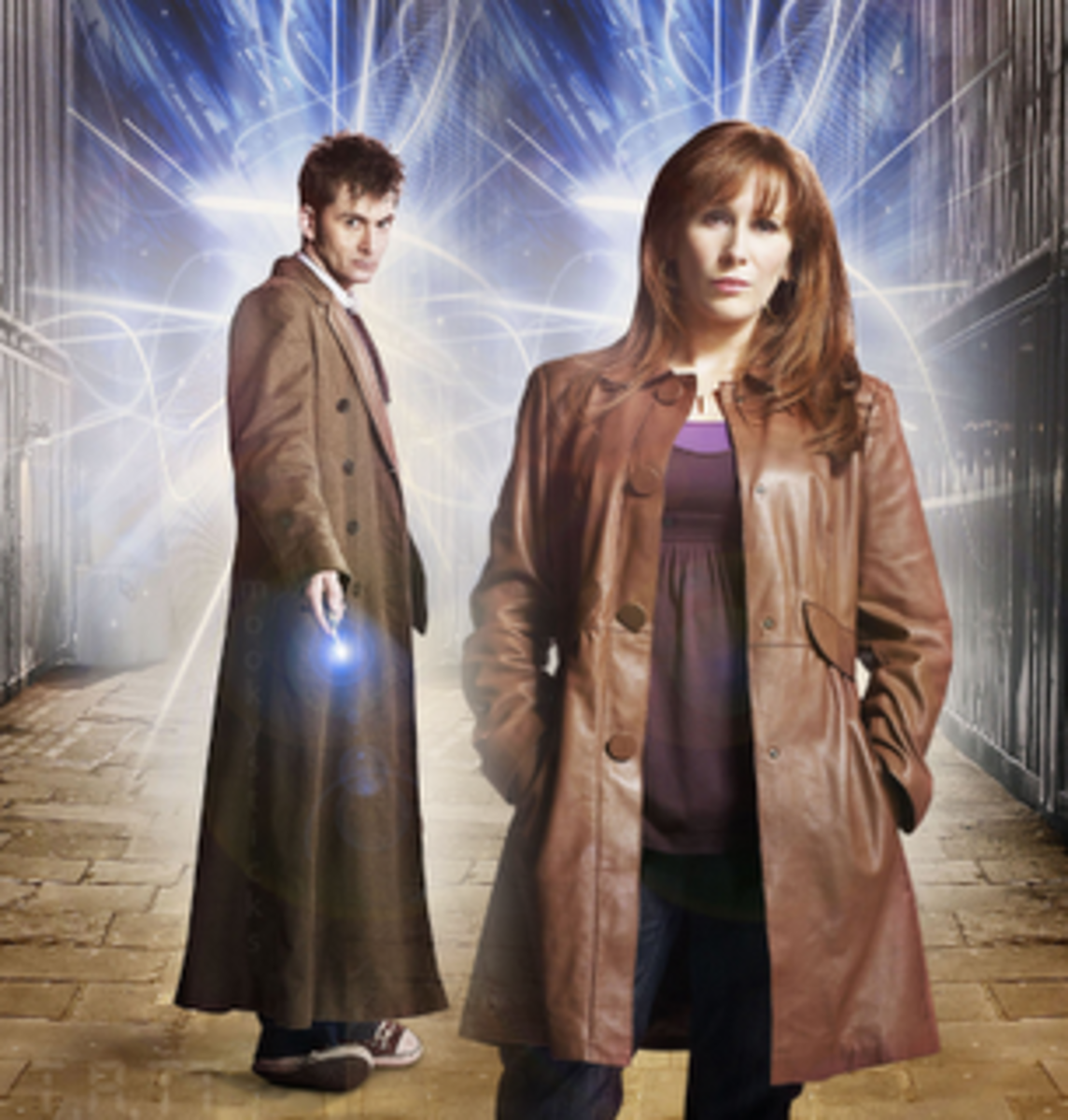 David Tennant as the 10th Doctor and my favorite companion, Donna (Catherine Tate)
