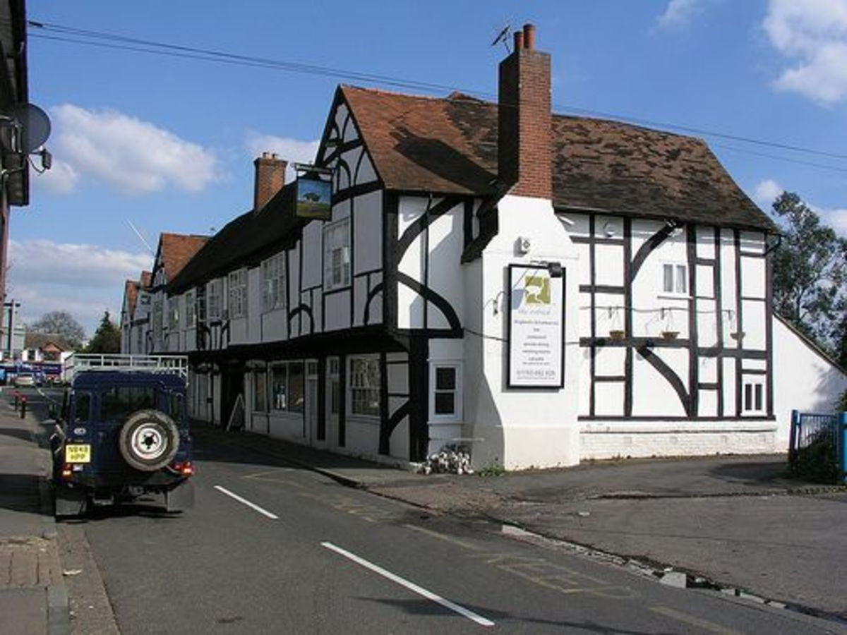 The Ostrich Inn - Colnbrook, near Slough in Berkshire - 3rd oldest pub in England