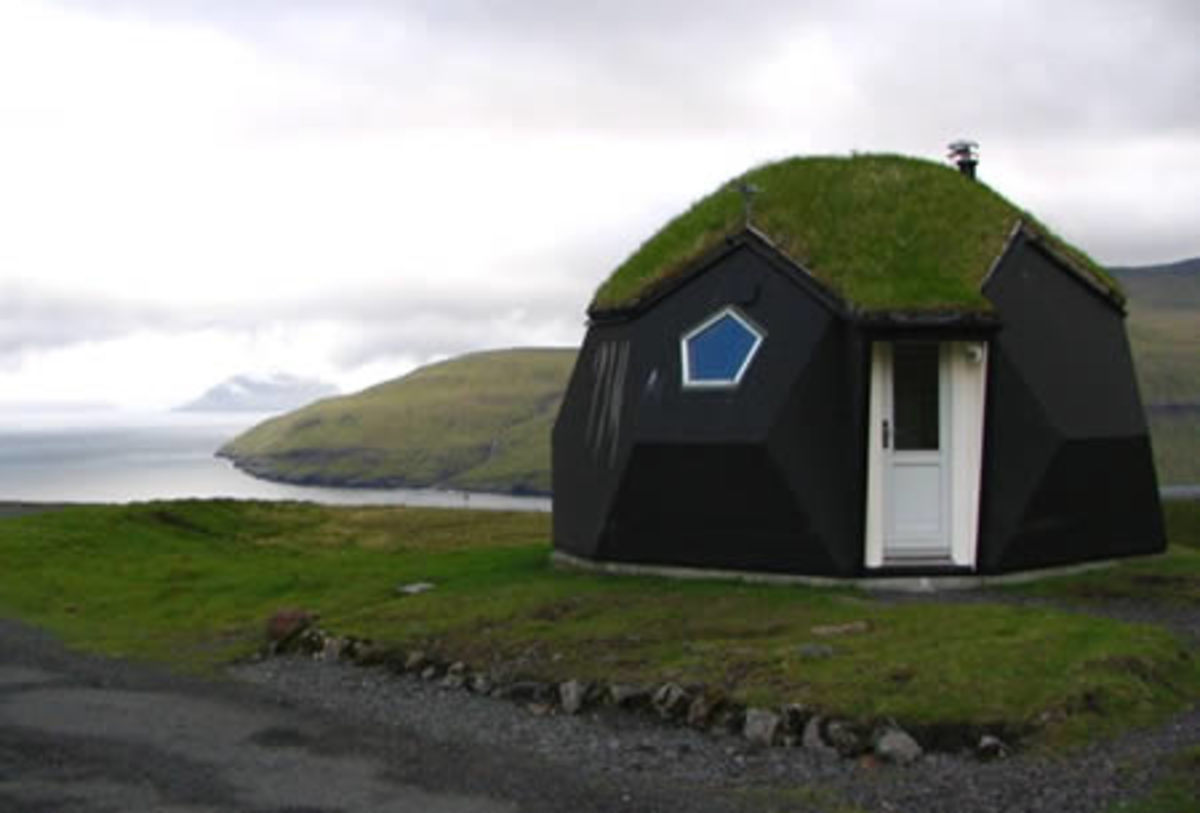 The Kvivik Igloo, in Kvivik (Faroe Islands).