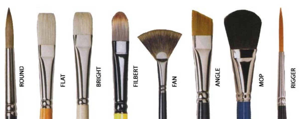 Each Brush has a Different Purpose