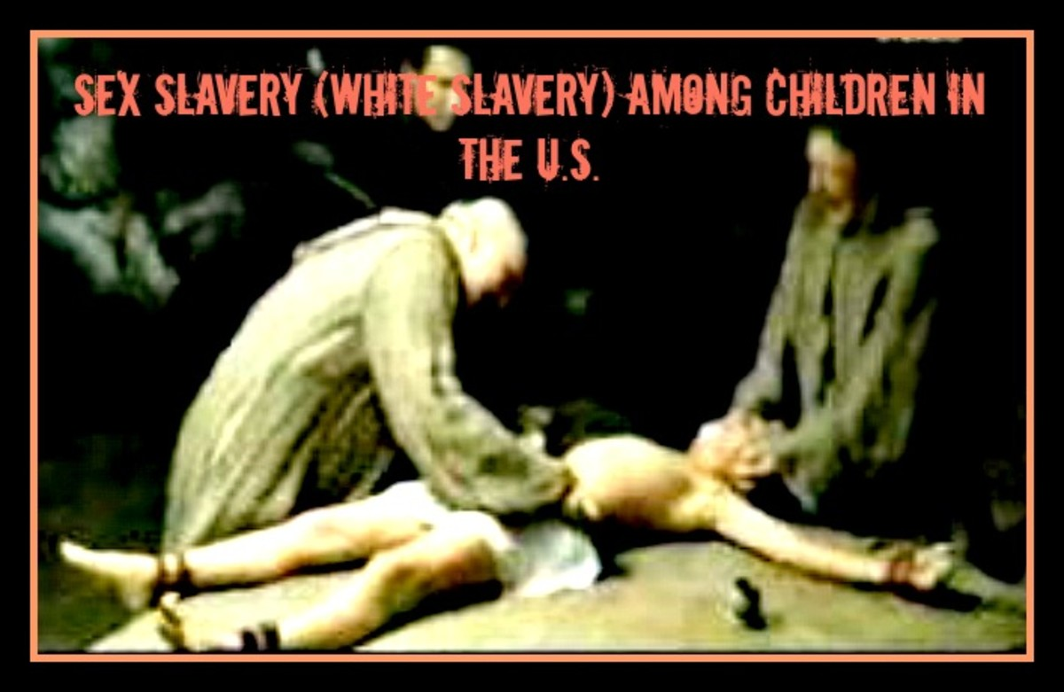 Sex Slavery (white slavery) among Children in the U.S.