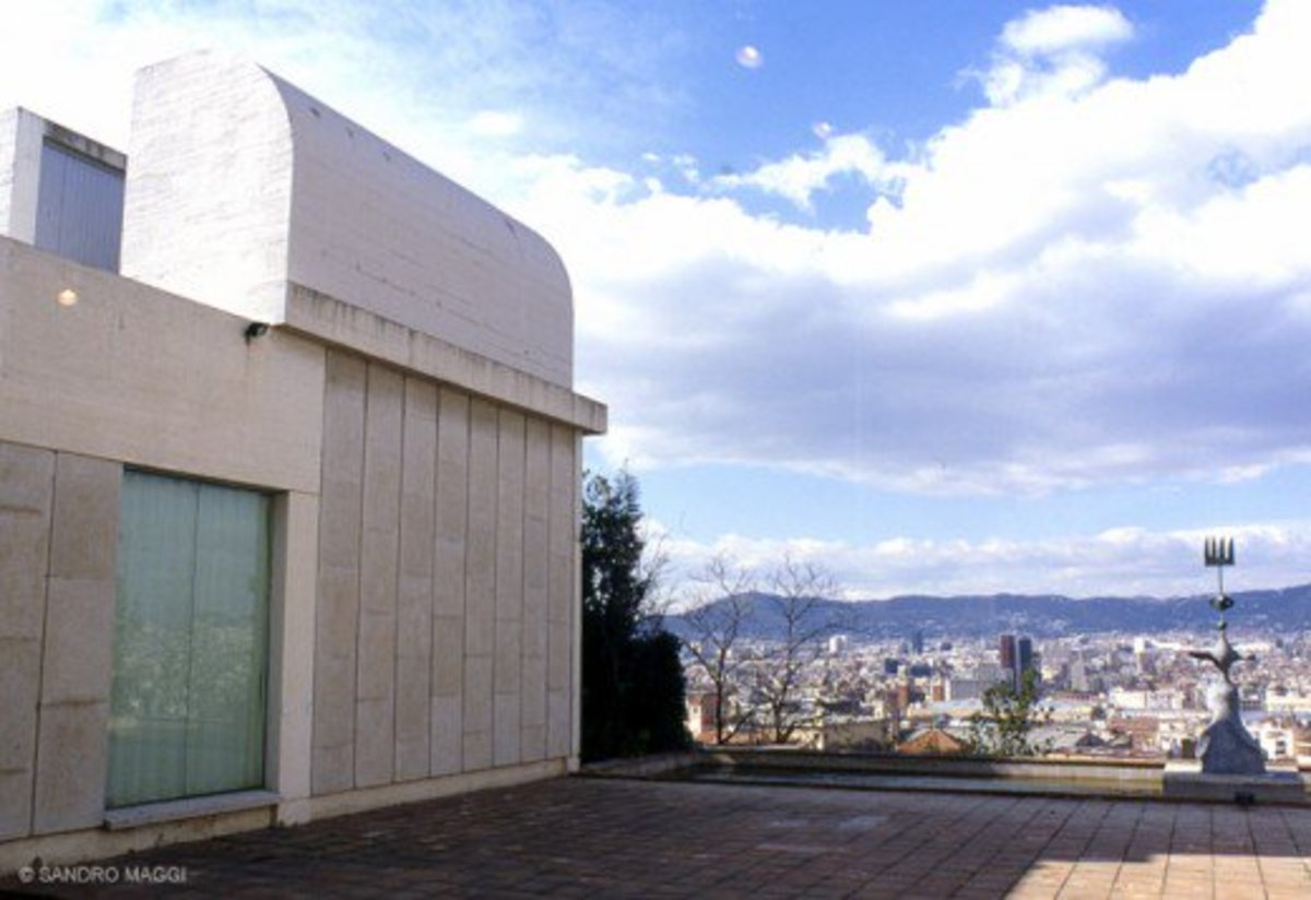 Joan Miró  Foundation in Barcelona exterior view