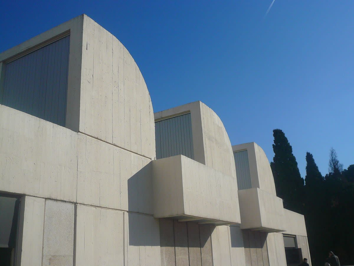 The Joan Miró  Foundation in Barcelona building is also a work of art.