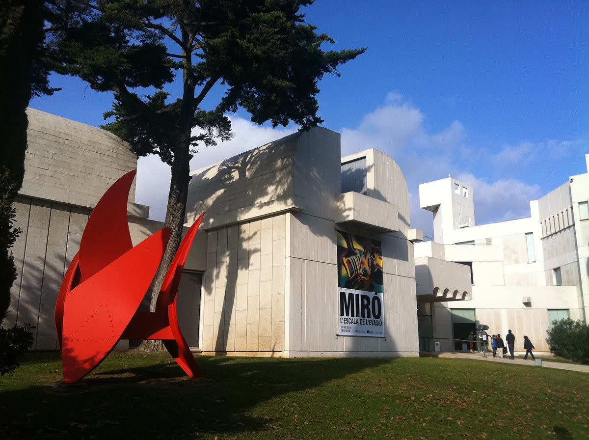 Joan Miro Foundation, a Spectacular Art Museum in Barcelona, Spain