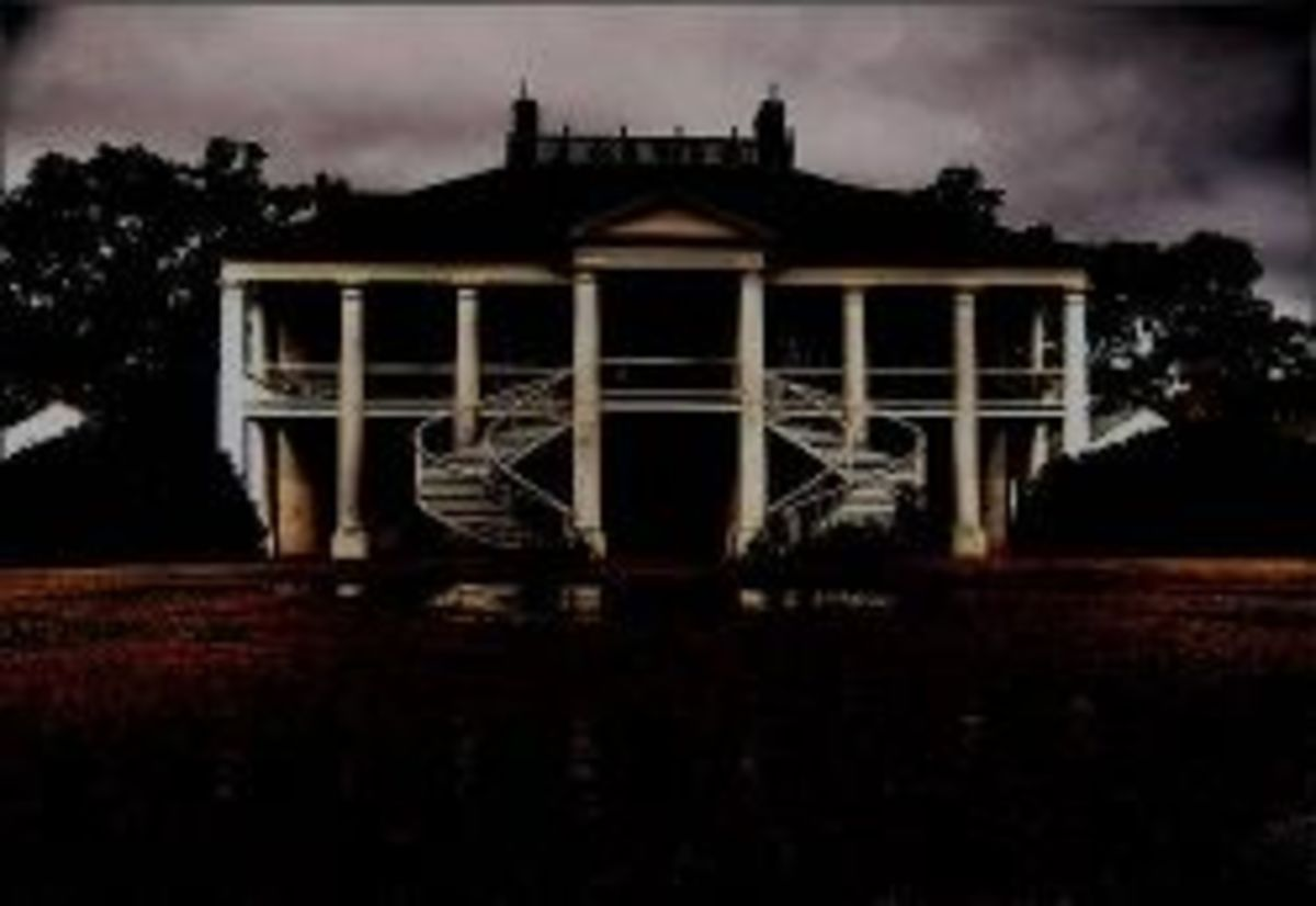 Haunted Antebellum Mansions