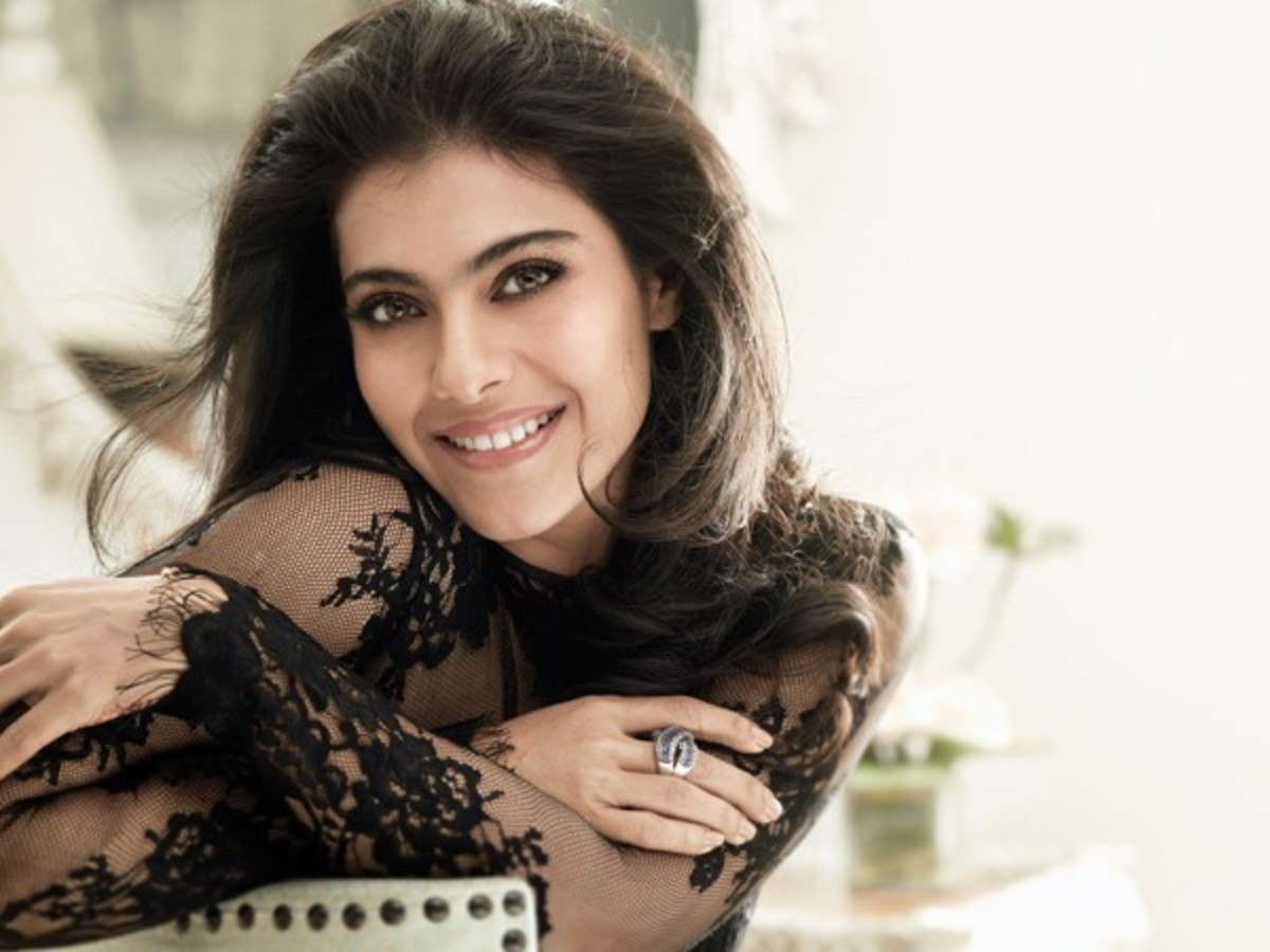 The stunning Kajol