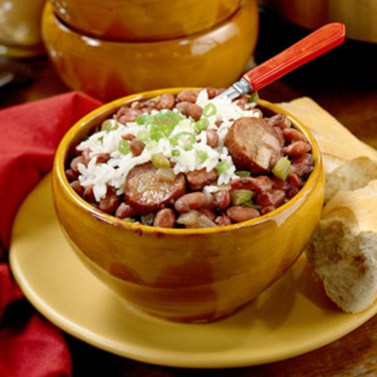 Have you ever had red beans and rice. Have you ever cooked a kettle of beans. Post your comments below.