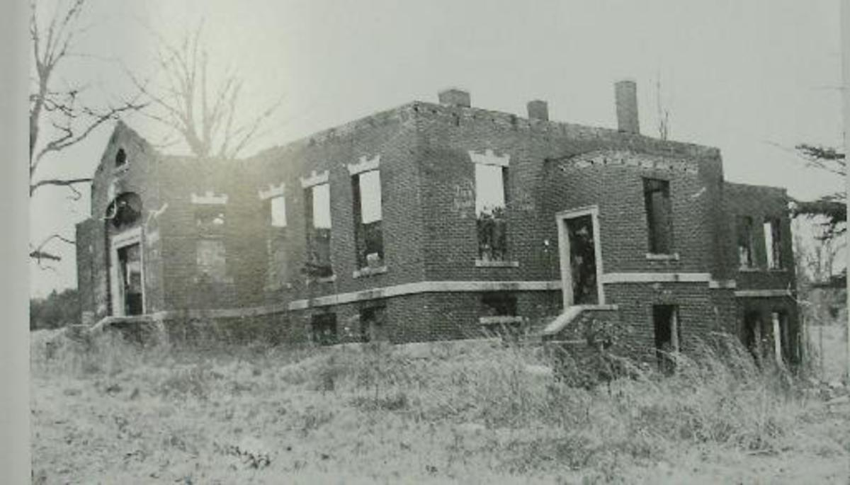 Lincoln Academy - long after it's glory days.