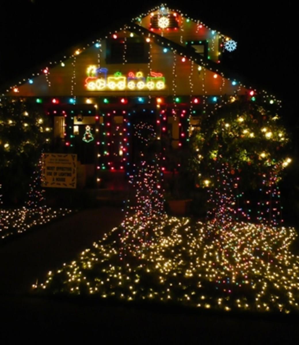 C5, C7 and C9 Christmas Lights